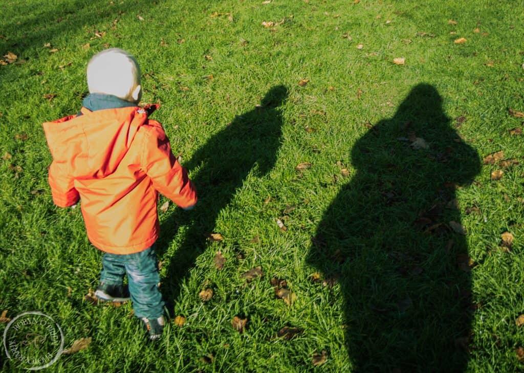 catch my shadow