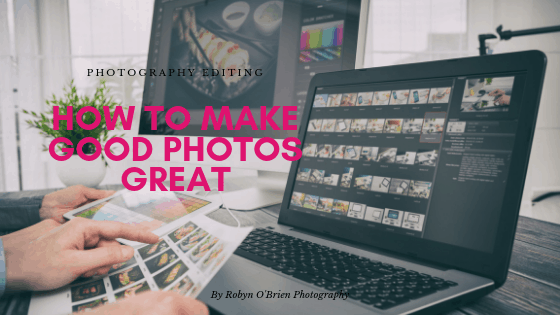 How to make your good photos great.