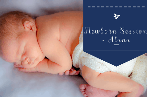 5 Day old Home Newborn Session in Brierley Hill – Baby Alana
