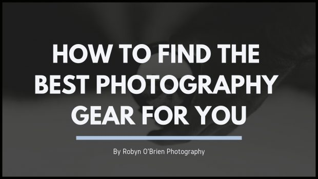 How to find the best photography gear for you