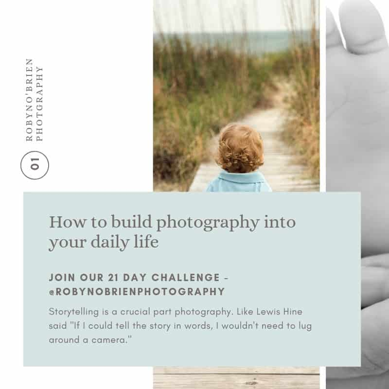 How to build a successful photography habit?