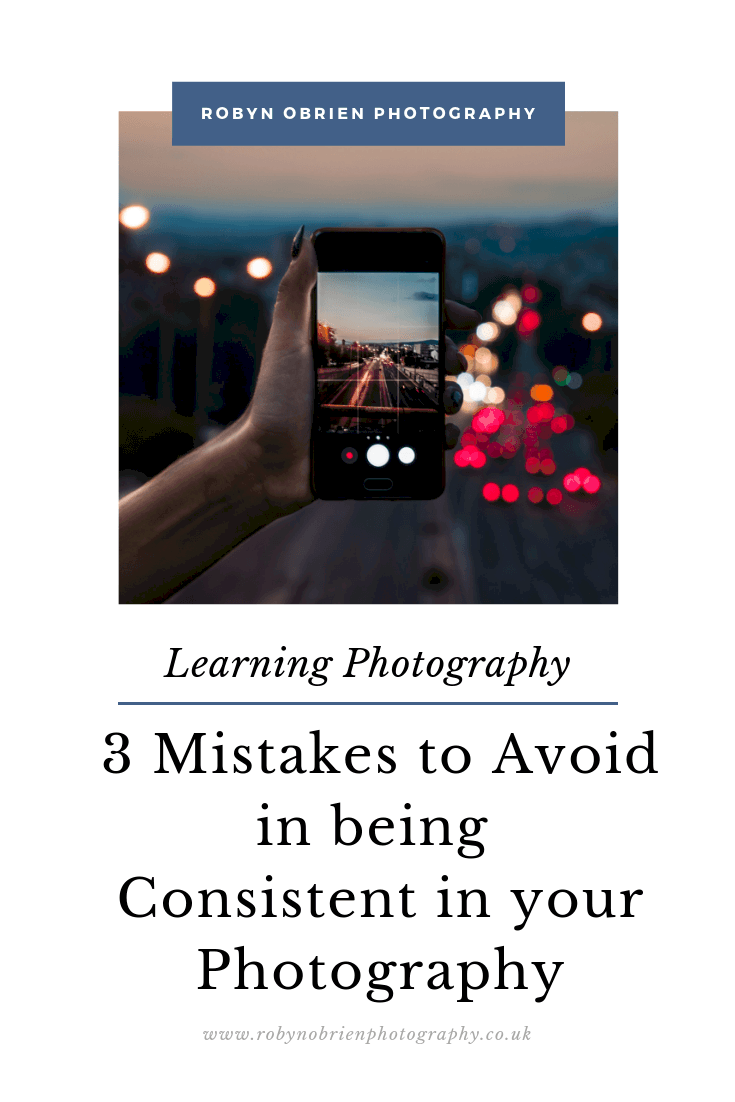 3 mistakes to avoid in being consistent