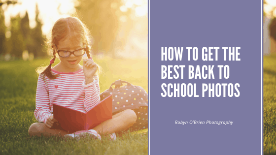 How to get the best back to school photos