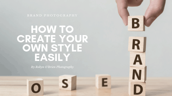 Brand Photography Challenge: How to create your own style easily