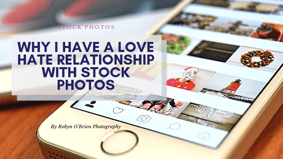 Why I have a love hate relationship with Stock Photos?