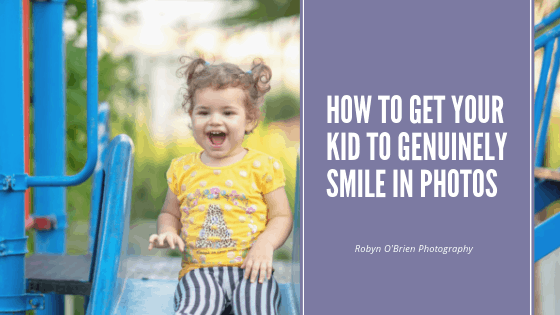 How to Get Your Kid to Genuinely Smile in Photos