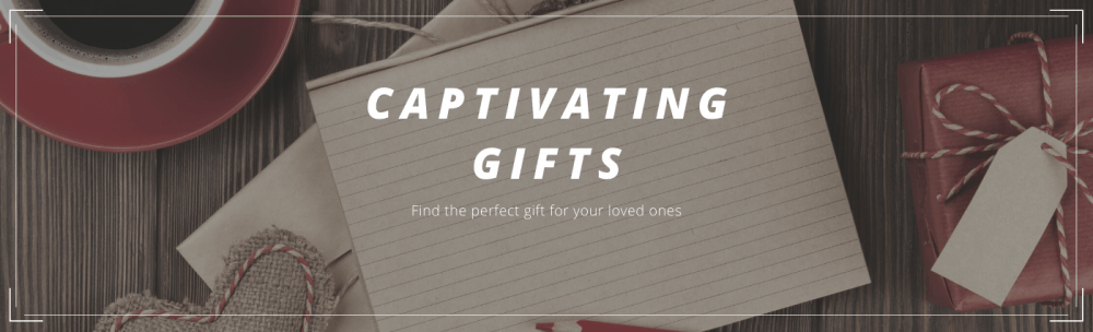 Captivating Gifts Banner