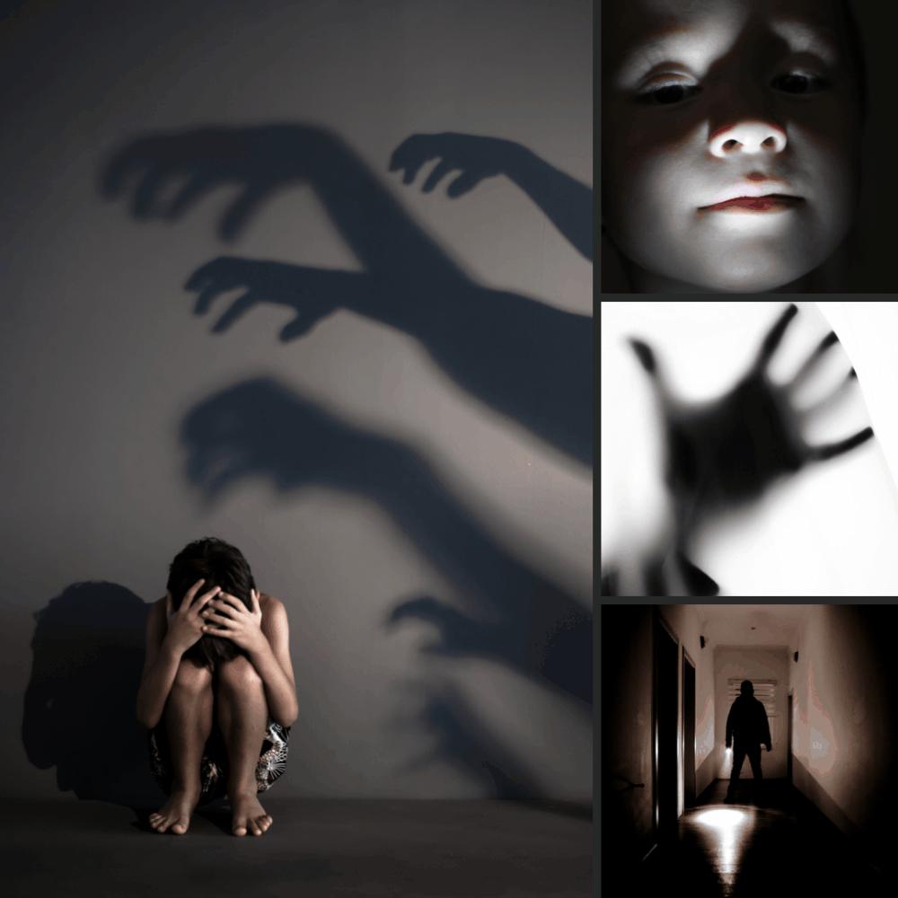 Using spooky lighting in halloween photos
