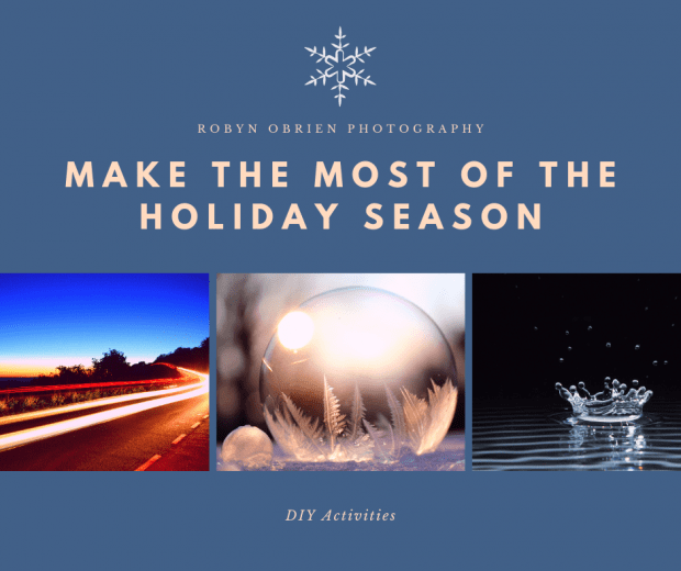 Make the most of the holiday season winter photo ideas