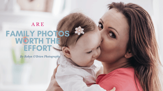 Mom and daughter cuddling - Are family photos worth the effort?