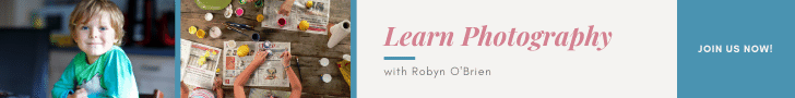 Learn photography with Robyn