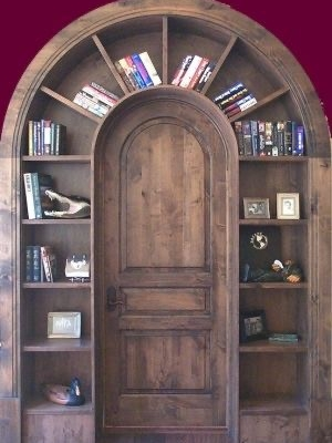 Library door